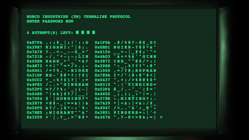 Illustration for article titled Get All the Fallout 3 Terminal Hacking Action You Want, When You Want It