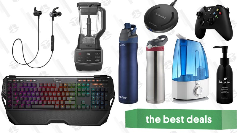 Illustration for article titled Tuesday's Best Deals: Macro Keyboard, J.Crew, Contigo Travel Mugs, and More
