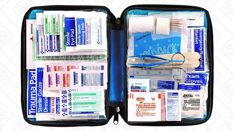 299 Piece First Aid Kit, $12