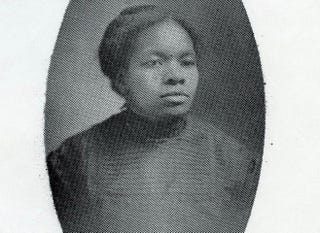 Rebecca Howlett, who was freed from slavery in the 1850s (family photo courtesy of Angel Evans)