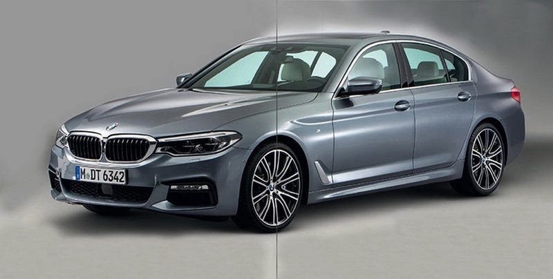 Illustration for article titled Here's The Next BMW 5 Series Before You're Supposed To See It