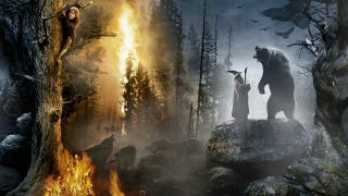 Illustration for article titled Massive Hobbit scroll shows off 10 gorgeous scenes from Peter Jackson's movie