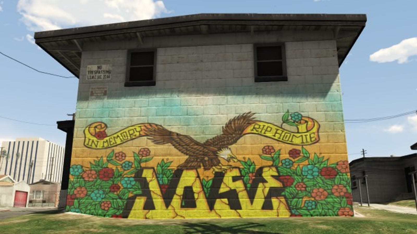 Grand theft auto v shows other games how graffiti is done