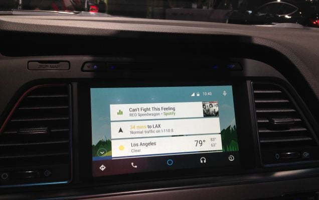 now you can test drive android auto. Black Bedroom Furniture Sets. Home Design Ideas