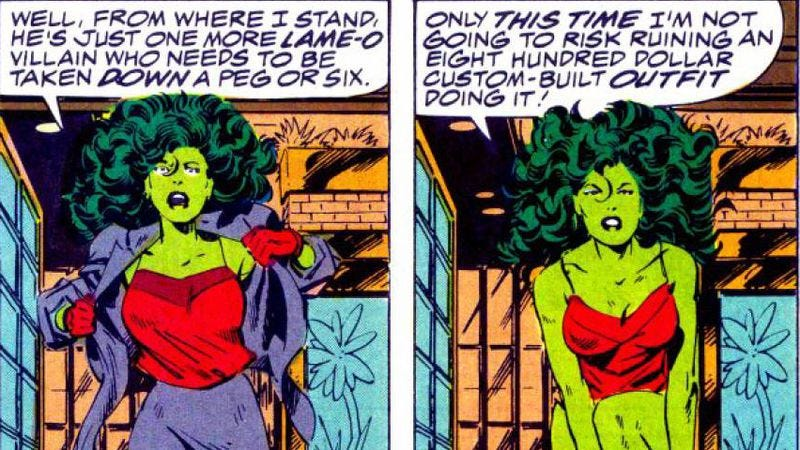Illustration for article titled She-Hulk is a sex fantasy for virgins, and other David S. Goyer thoughts
