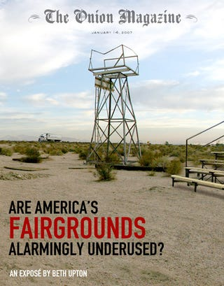Illustration for article titled Are America's Fairgrounds Alarmingly Underused?