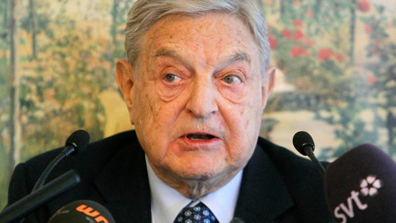 George Soros, photographed here at the World Economic Forum in Davos in 2012.