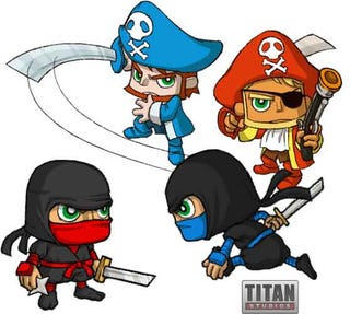 Illustration for article titled Fat Princess Teases Pirates And Ninjas