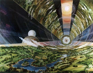 Illustration for article titled Life inside an asteroid: The plausibility of 2312