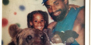 The Root contributing editor Hillary Crosley with her father, Hilton Charles Crosley (courtesy of Hillary Crosley)