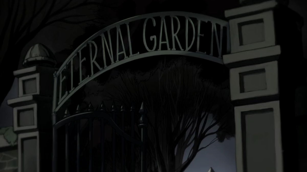 The Haunted Ruins Of Night Myths And Meanings Of Over The Garden