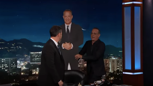 Tom Hanks flips out, spills Disney secrets, shoplifts Tom Hanks