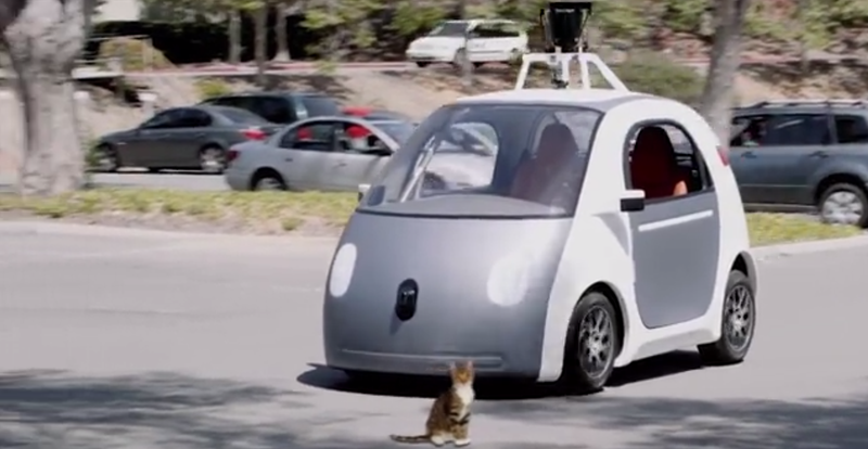 Illustration for article titled Google's Self-Driving Car Has A Cute Exterior And No Morals Whatsoever