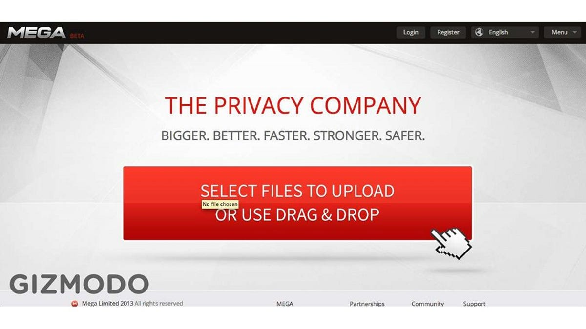 Hands On With Kim Dotcom's New Mega: This Service Could Dismantle