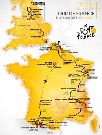 Illustration for article titled Tour de France 2014