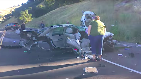 Holy Crap This Is A Bonkers Wreck