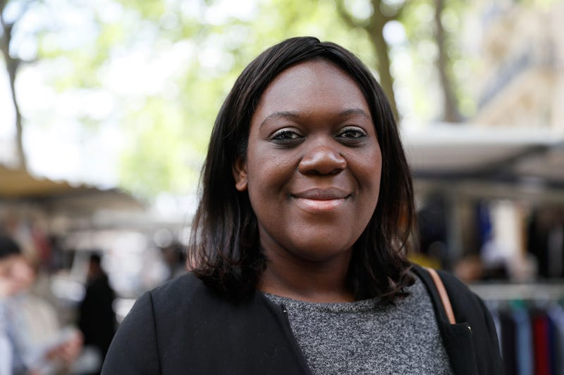 Laetitia Avia, a member of the French Parliament, in Paris on May 18, 2017