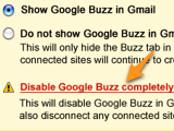 Illustration for article titled Buzz Drops Auto-Following, Won't Automatically Connect to Google Services, Adds Better Disable