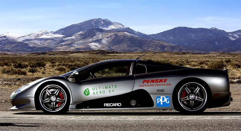 Ultimate Aero Ev Ssc Plans To Build World S Fastest Electric