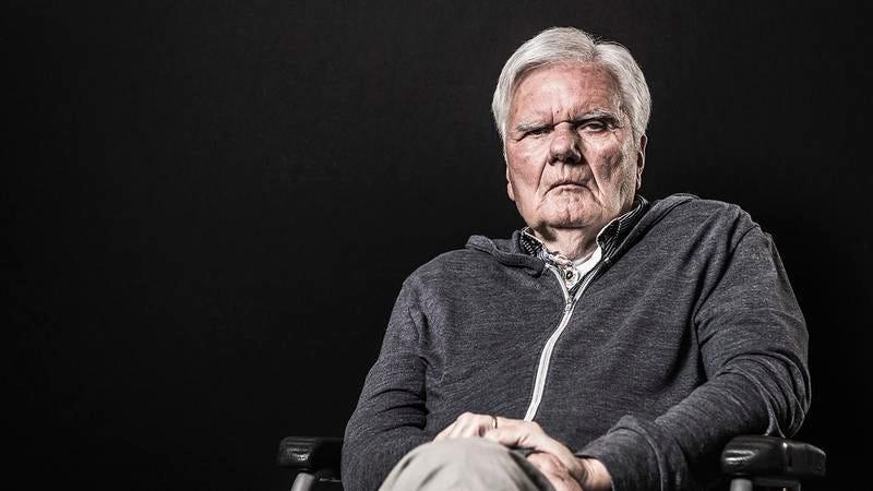 An old man who was a Holocaust denier.