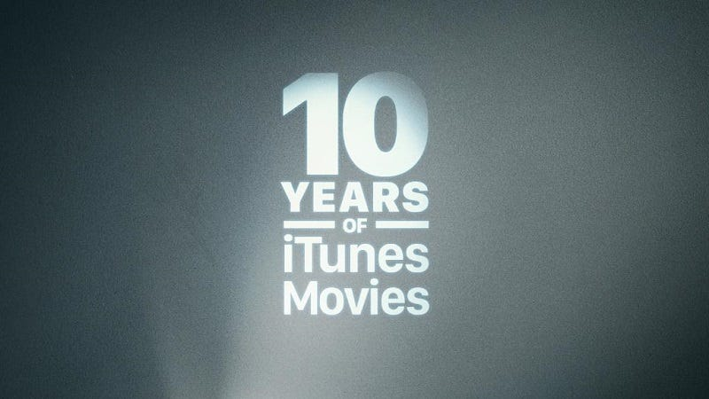 Illustration for article titled Celebrate 10 Years of iTunes Movies Today With 10-Movie Bundles for Only $10