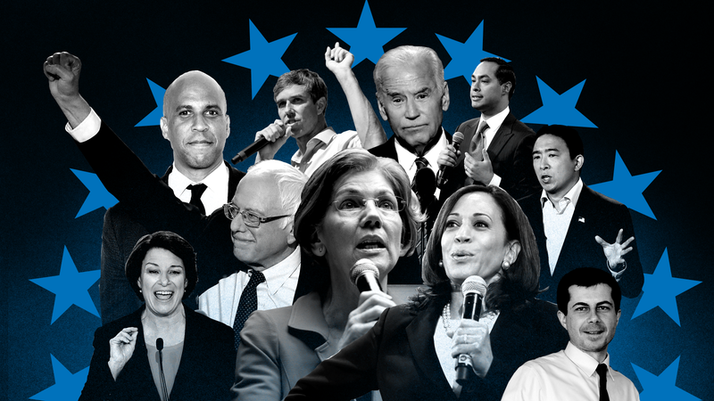 Illustration for article titled Biden Brings the Pain, Warren Starts to Gain and Yang Makes It Rain: 2020 Presidential Black Power Rankings, Week 9