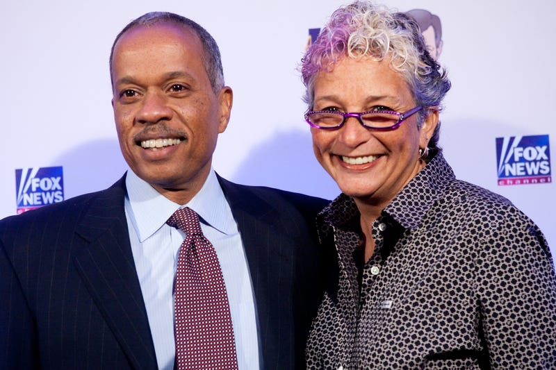 Juan Williams with his wife in 2009Brendan Hoffman/Getty Images