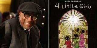 Spike Lee (Chip Somodevilla/Getty Images); Screenshot of '4 Little Girls' Cover