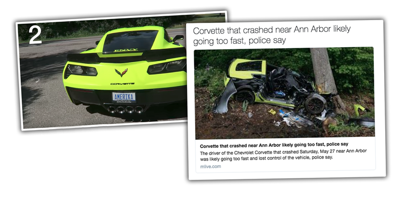 Illustration for article titled Driver Who Crashed Corvette Z06 Into Tree Sentenced To Nine Months In Jail