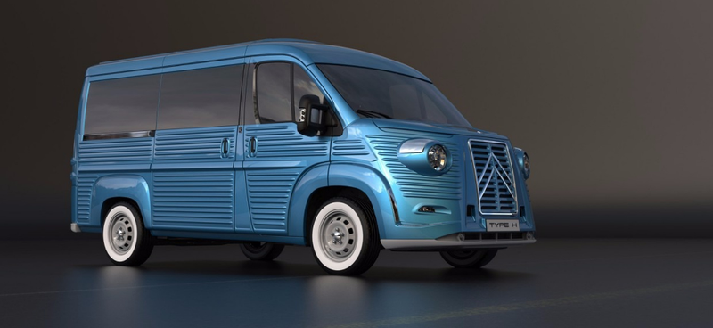 Illustration for article titled Celebrate Citroën's Iconic Van's 70th Birthday By Putting A New Citroën Van In Costume