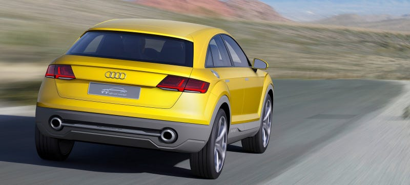 Illustration for article titled Audi Says A TT Crossover Is Way More Likely Than A TT Sedan