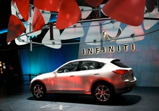 Illustration for article titled New York Auto Show: Infiniti G Coupe and EX Concept