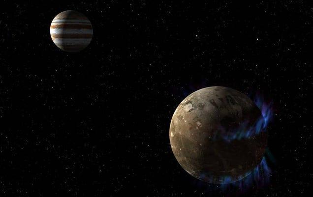 NASA Spacecraft Has a Close Encounter with Jupiter s Moon Ganymede