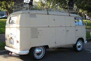 Illustration for article titled 1957 Volkswagen Transporter