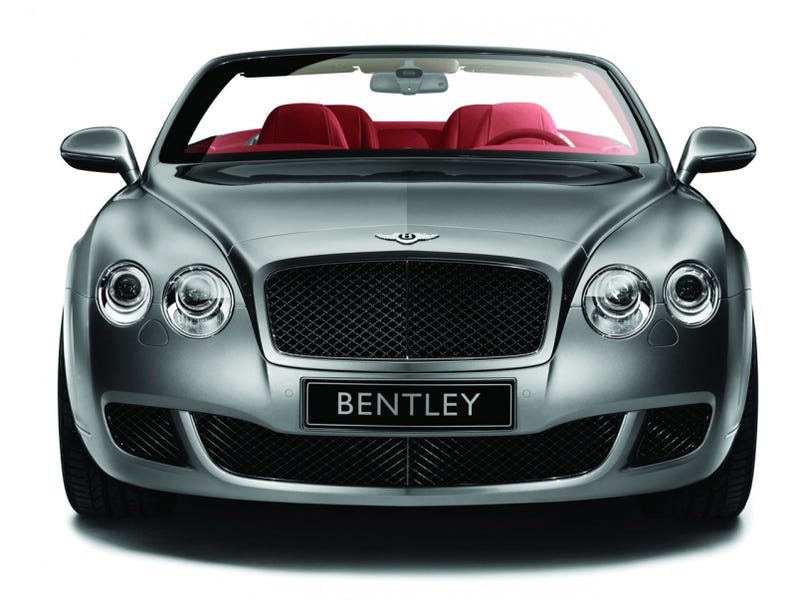 Sporting An Upgraded Visage, 600 HP, New Ceramic Brakes, Top Speed Of 200  MPH And Interior Color Choices Like Aquamarine, The Bentley Continental GTC  Speed ...