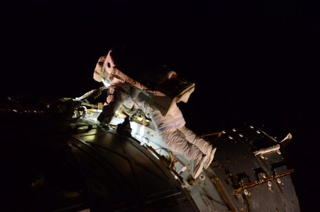 Astronauts Take 7-Hour Spacewalk To Prepare ISS For Space ...
