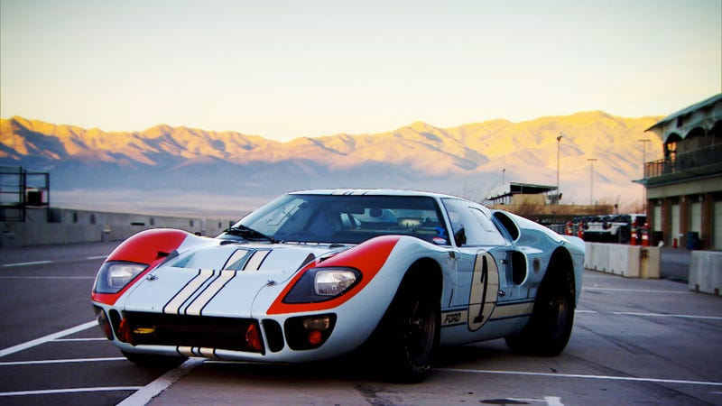 Illustration for article titled Top Gear's Adam Ferarra Drives A Real $8 Million Ford GT40 Tonight