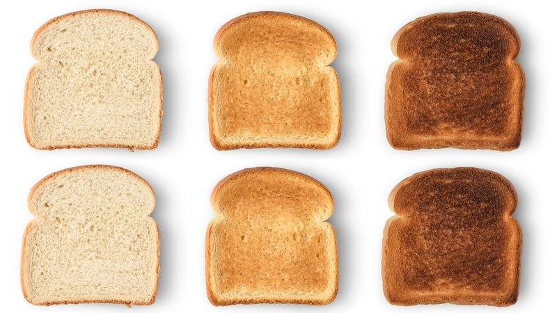 Illustration for article titled Last Call: What shade is your perfect toast?