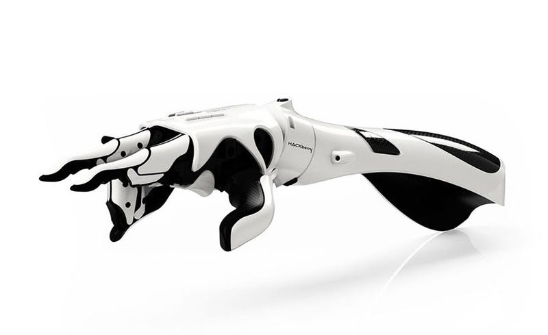 Illustration for article titled Open-Source Cyborg Hand is Making Prosthetics More Accessible Than Ever