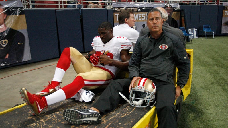 """Illustration for article titled St. Louis Jury Sticks Rams With $12.5 Million Bill For Reggie Bush's """"Concrete Ring Of Death"""" Injury"""