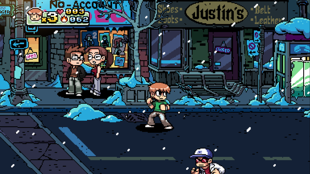 Scott Pilgrim Vs. The World: The Game Is The Winter Hangout I Needed Right Now