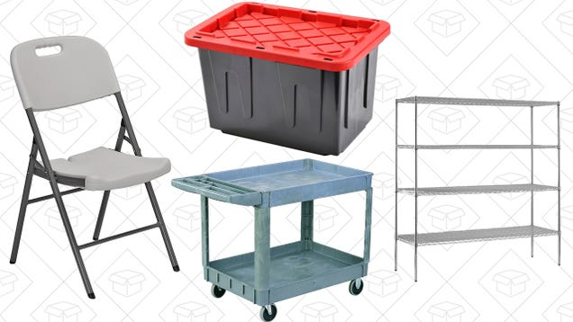 Get Your Garage Under Control With Amazon's Industrial Furniture Sale