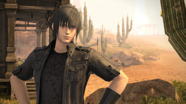 Final Fantasy XIV's New Crossover Event Is All About Chilling With Prince Noctis
