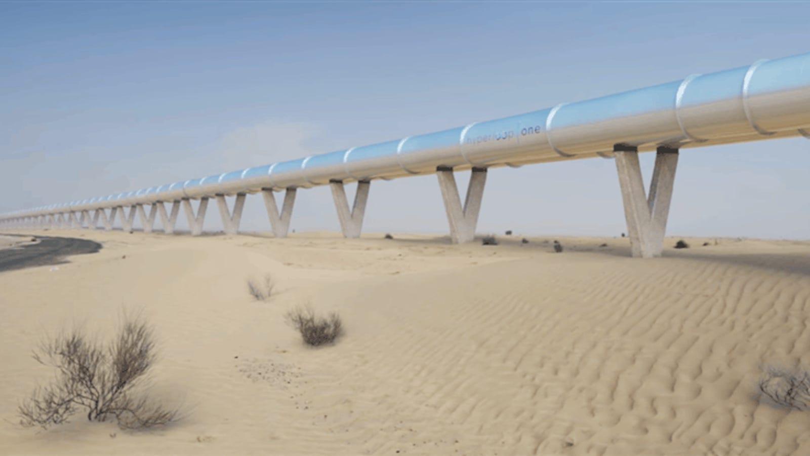 Así será viajar en Hyperloop de Dubái a Abu Dhabi en apenas 12 minutos