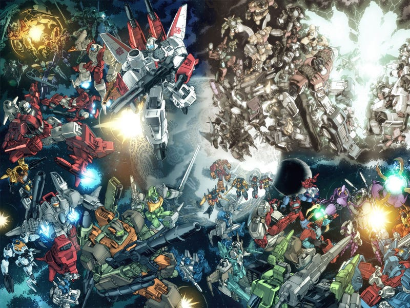Illustration for article titled Activision In Talks With Hasbro Over More Transformers Games