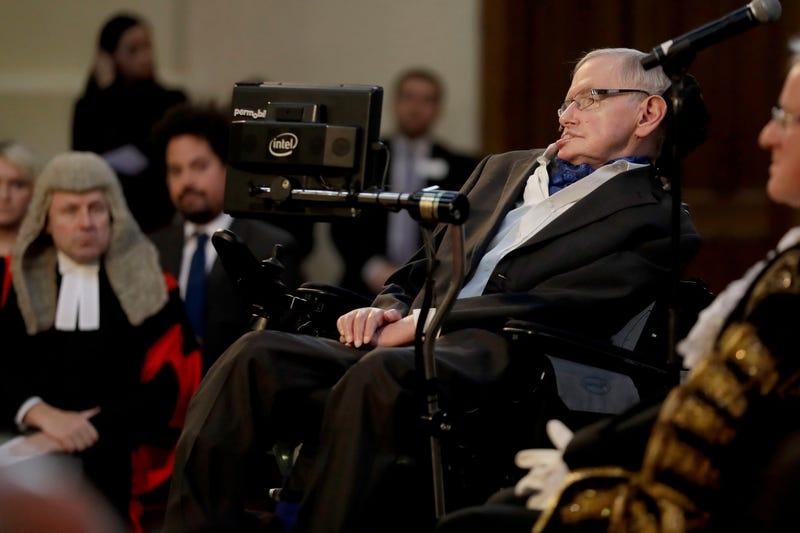 Stephen Hawking. AP