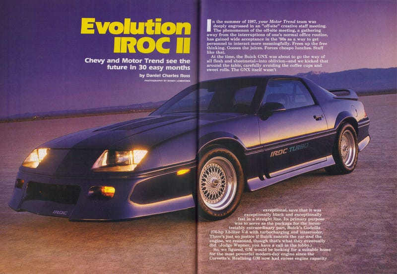 Illustration for article titled Evo IROC II