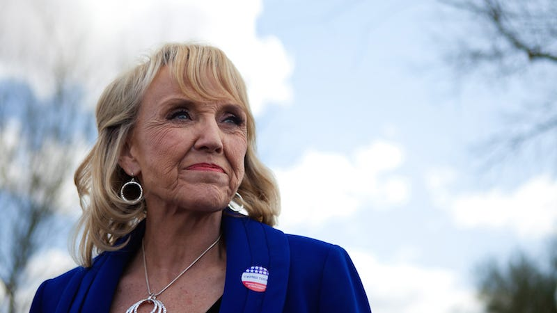 Illustration for article titled Former Arizona Gov. Jan Brewer Threatens To Sue the Internet For Calling Her Old