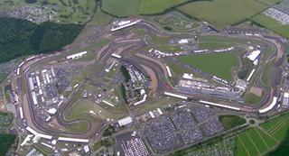 Illustration for article titled This Bird's-Eye View Of The British Grand Prix Is Awesome