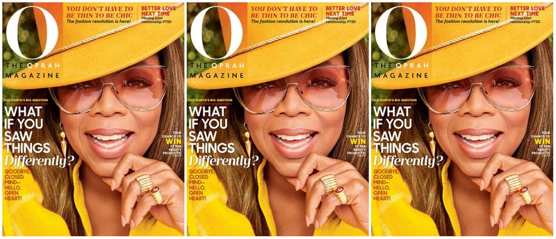 Illustration for article titled Golden Lady: Oprah Is Pure Gold for the September Issue of O Magazine